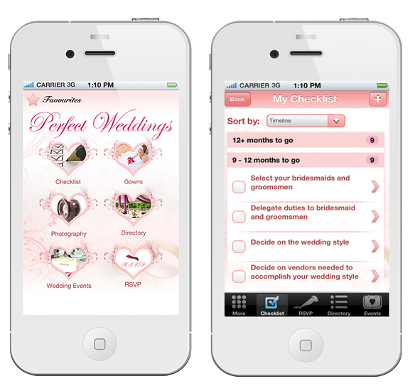 Wedding Planning App.Singapore S First Wedding Planning Iphone App