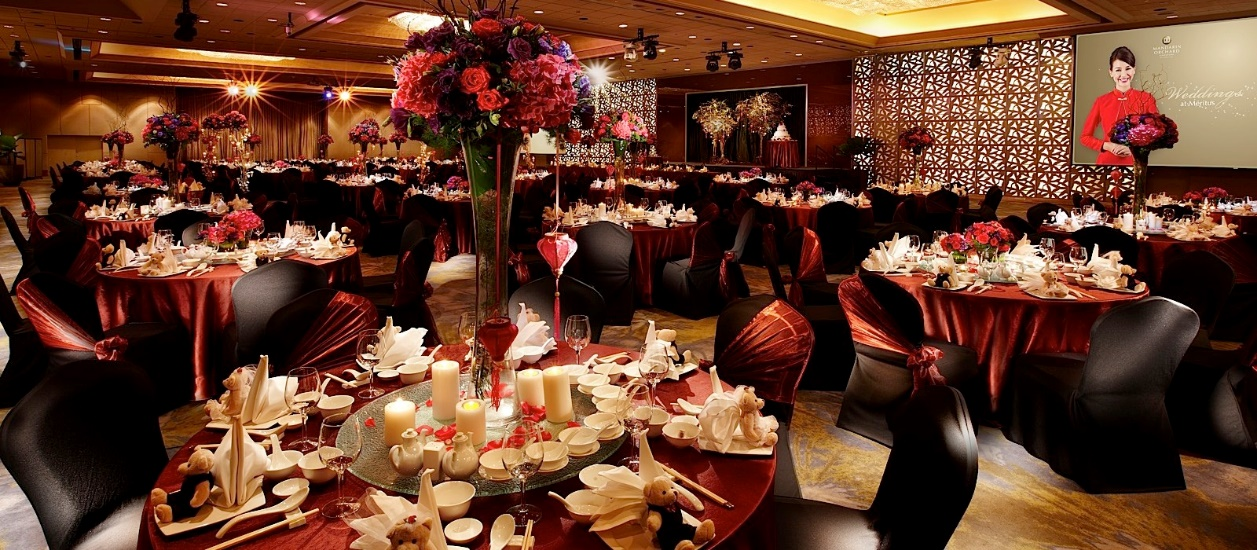 Mandarin orchard hotel wedding