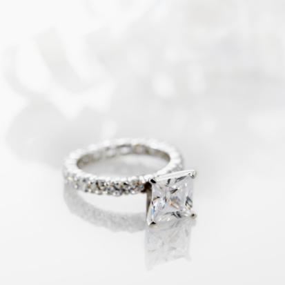 These are often colorless diamonds as offwhite diamonds inhibit brilliance